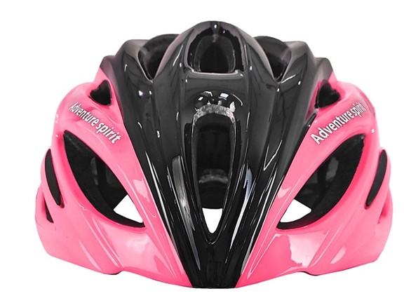 Capacete Ciclismo Jet Hornet - Preto/ Rosa Neon  - REAL ESPORTE