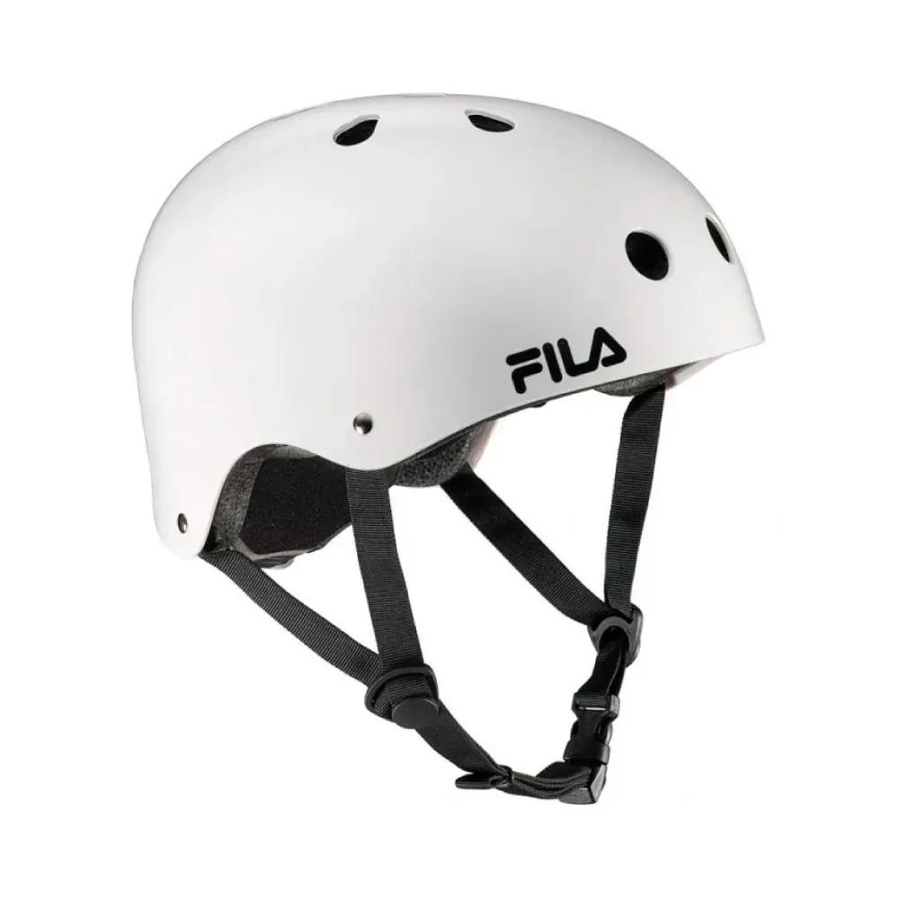Capacete Fila Nrk Fun Helmet - Branco  - REAL ESPORTE