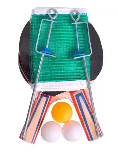 Conjunto de Raquete de Tênis de Mesa Effect Poker - 09019  - REAL ESPORTE