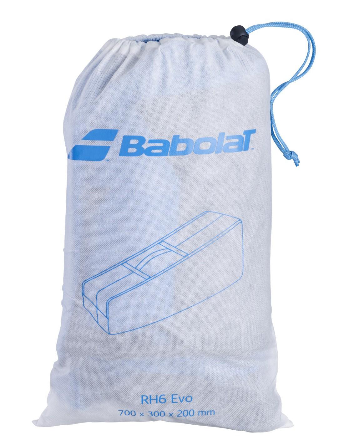 Raqueteira Babolat RH x6 Evo - Azul/Cinza  - REAL ESPORTE