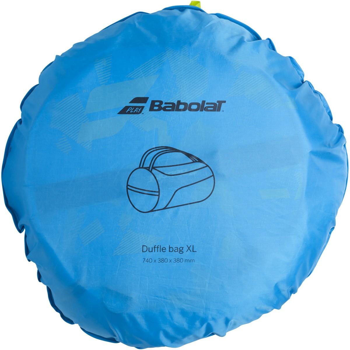 Raqueteira Babolat Duffle XL Azul/Amarela  - REAL ESPORTE