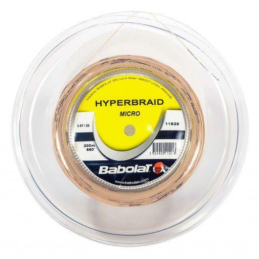 Corda De Badminton Babolat Hyperbraid Micro - SET INDIVIDUAL  - REAL ESPORTE