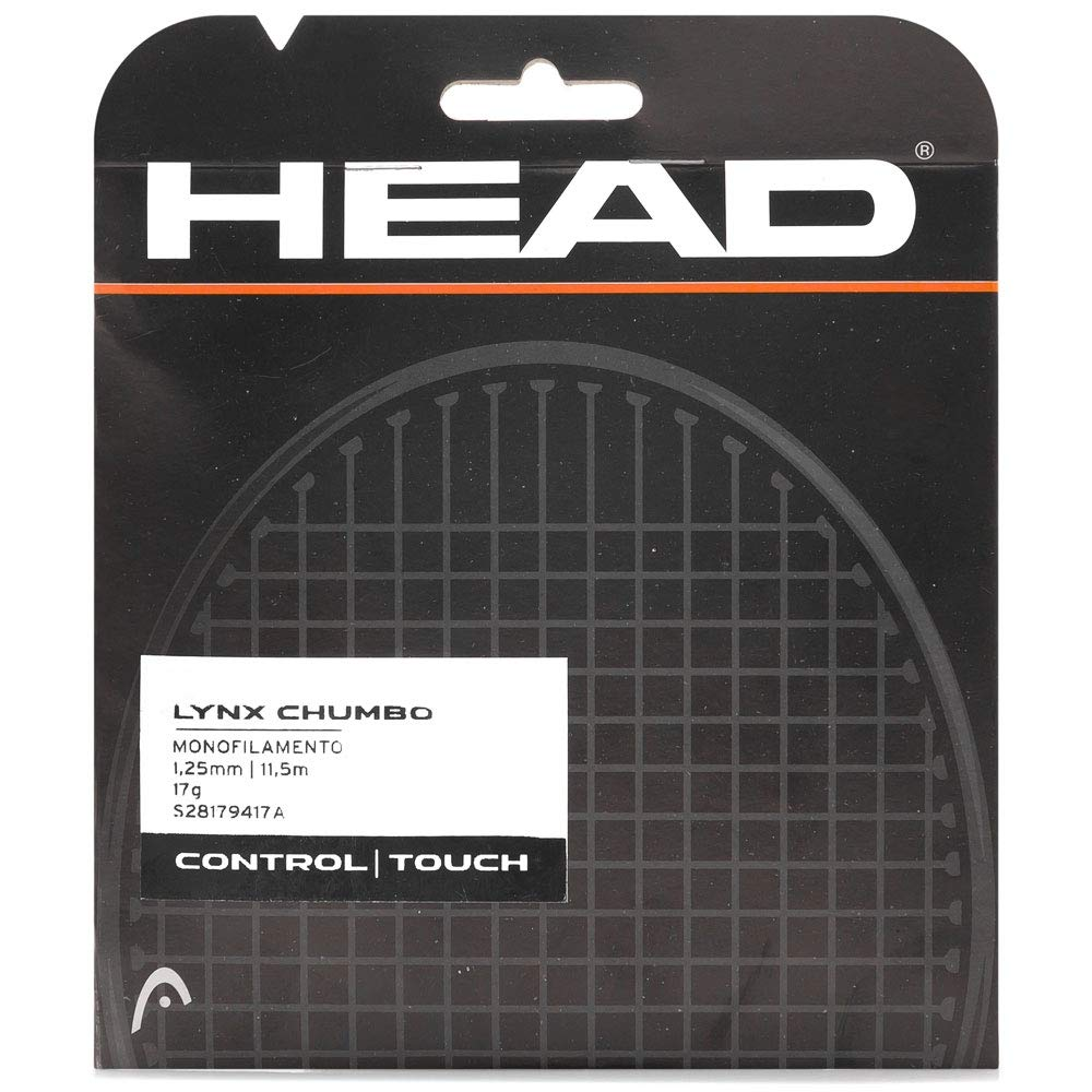 Corda Head Lynx 17L 1.25mm Chumbo - Set Individual  - REAL ESPORTE