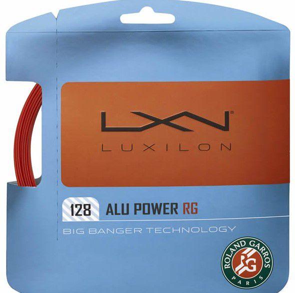 Corda Luxilon Alu Power Roland Garros 128 - Set Individual  - REAL ESPORTE