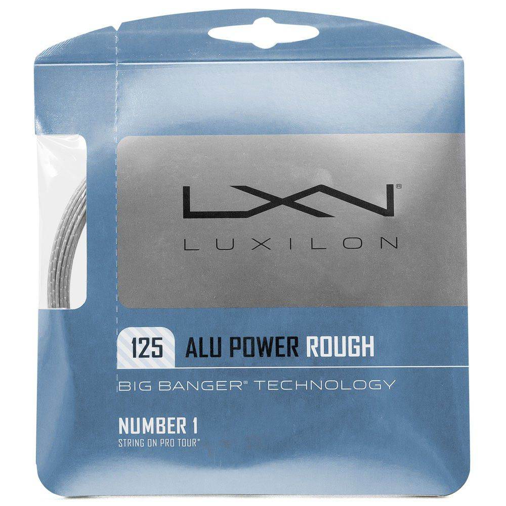 Corda Luxilon Alu Power Rough 16L 1.25mm 12.2m - Set Individual  - REAL ESPORTE