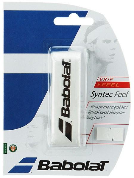 Cushion Grip Babolat Syntec Feel  Branco  - REAL ESPORTE