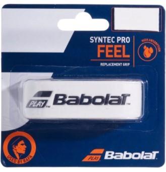 Cushion Grip Babolat Syntec Pro Feel - Branco  - REAL ESPORTE