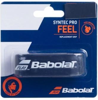 Cushion Grip Babolat Syntec Pro Feel - Preto  - REAL ESPORTE