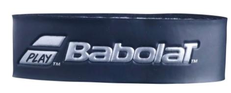 Cushion Grip Babolat Syntec Pro Feel - Preto/Prata  - REAL ESPORTE