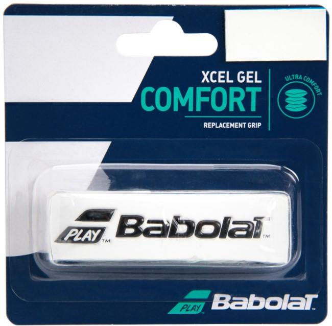 Cushion Grip Babolat Xcel Gel - Branco  - REAL ESPORTE