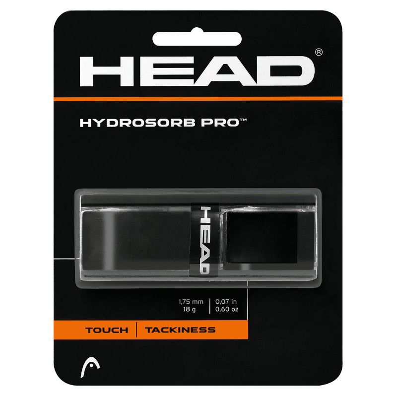 Cushion Grip Head HydroSorb Pro - Preto  - REAL ESPORTE