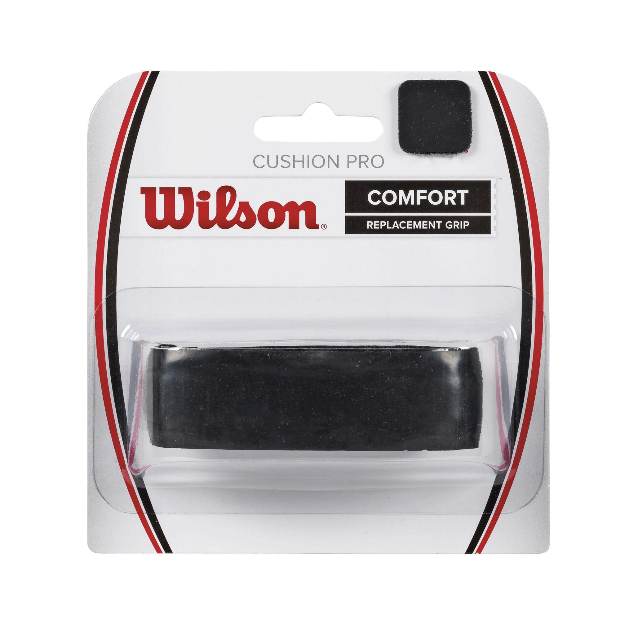 Cushion Grip Wilson Pro Comfort - Preto  - REAL ESPORTE