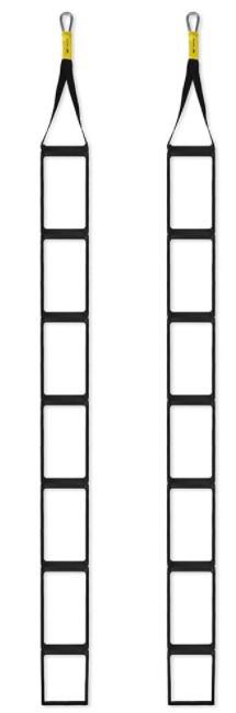 Escada de Suspensão Muvin - Preto  - REAL ESPORTE