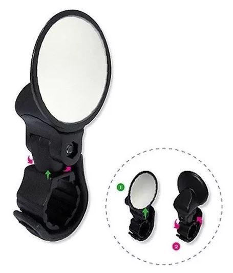 Espelho Mini Ajustável 360º Elleven  - REAL ESPORTE