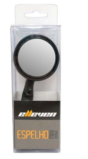 Espelho Mini Ajustável C/Regulagem Elleven - Preto  - REAL ESPORTE