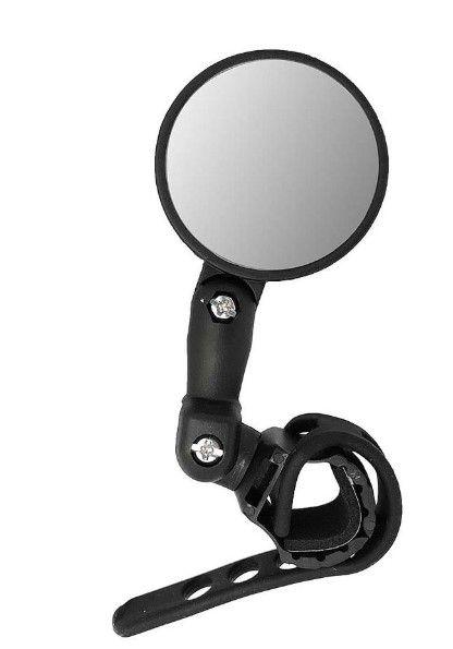 Espelho Mini Ajustável Elleven - Preto  - REAL ESPORTE