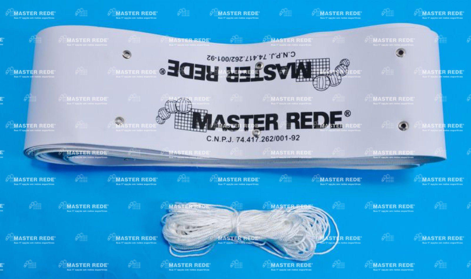 Faixa Superior Para Rede de Tenis Master Rede (Debrum)   - REAL ESPORTE