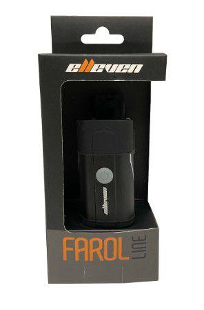 Farol  Dianteiro Elleven Line Aluminio 400 Lumens Carga Usb Ciclismo  - REAL ESPORTE