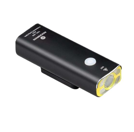 Farol Bateria 400 Lúmens Recarregável Via USB  - REAL ESPORTE