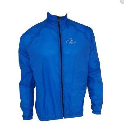Jaqueta de Ciclismo Corta Vento Cabani - Azul  - REAL ESPORTE