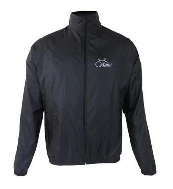Jaqueta de Ciclismo Corta Vento Cabani - Preto  - REAL ESPORTE