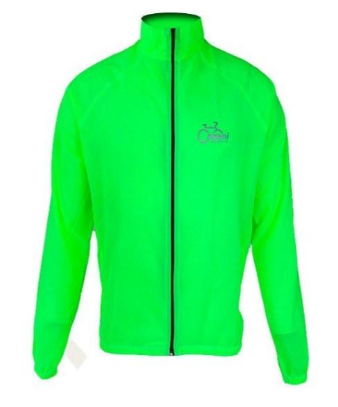 Jaqueta de Ciclismo Corta Vento Cabani - Verde Limão  - REAL ESPORTE