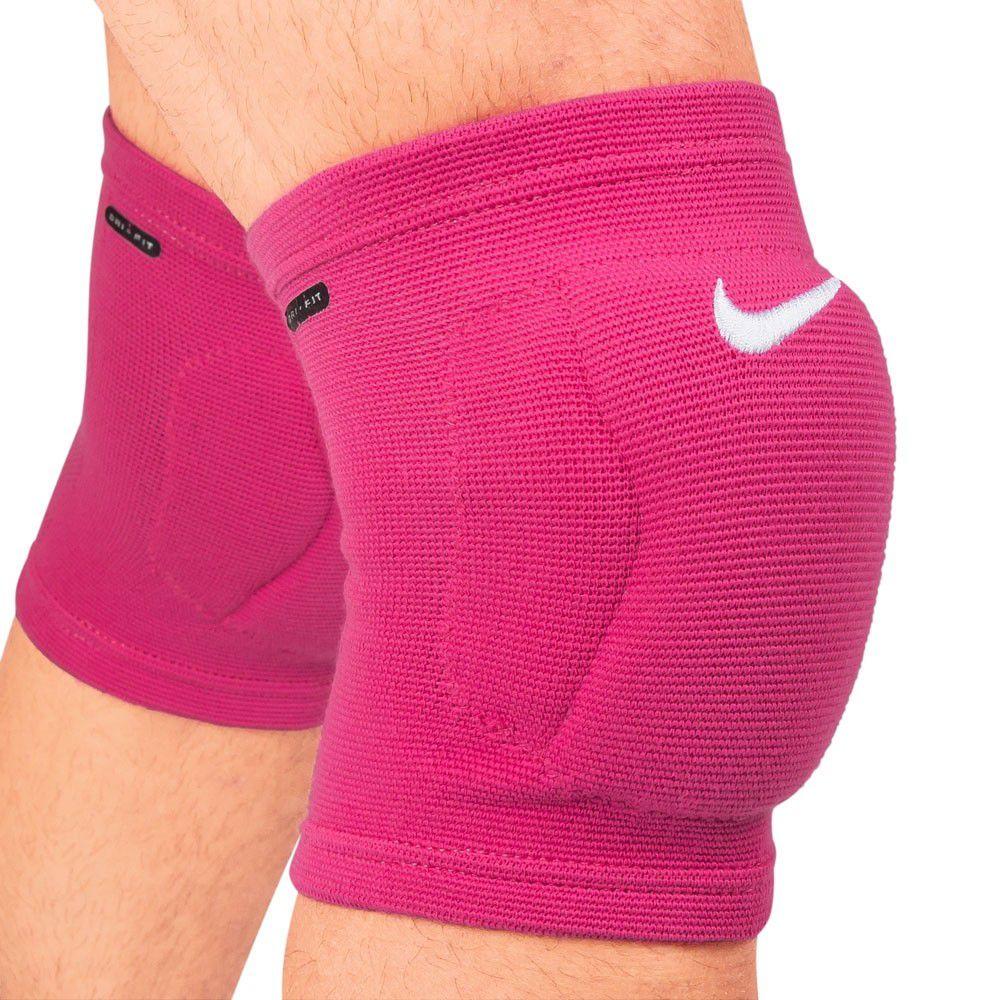 Joelheira Volei  Nike Streak Volleball Knee Pad - Rosa  - REAL ESPORTE