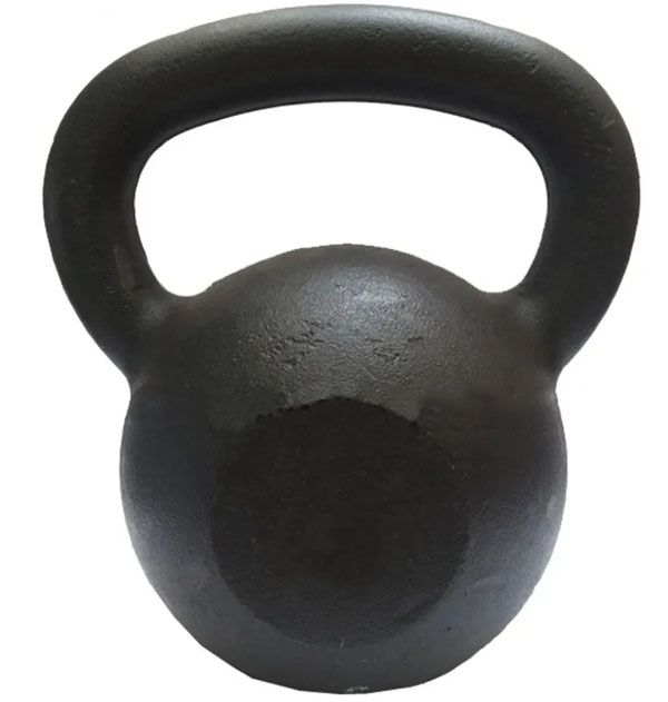 Kettlebell Ferro Fundido 12 kg  - REAL ESPORTE