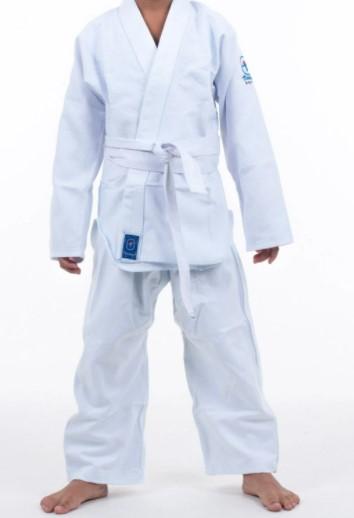 Kimono Mirim Judô Torah Junior - Branco  - REAL ESPORTE