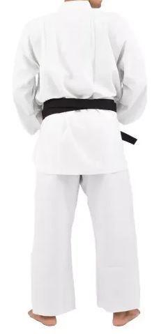 Kimono Torah  Karatê  A4 - Branco  - REAL ESPORTE