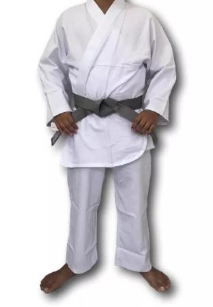 Kimono Torah Reforçado Flex - Branco  - REAL ESPORTE