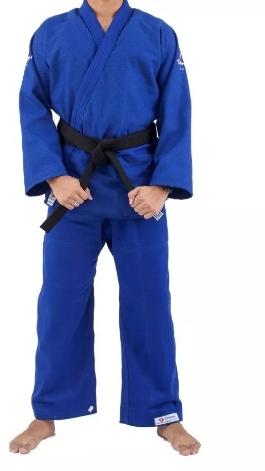 Kimono Torah Reforçado Plus  Jiu Jitsu  A4 - Azul  - REAL ESPORTE