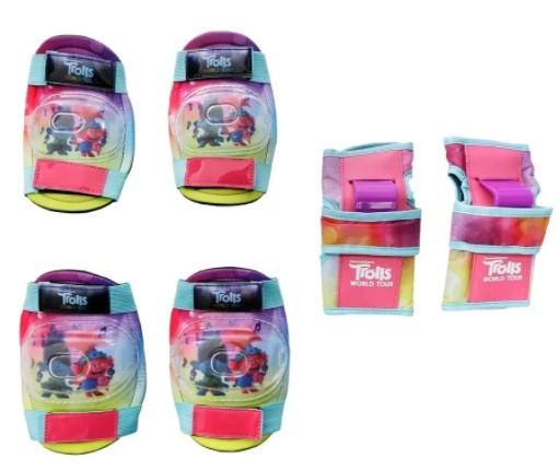 Kit de Proteção Infantil Trolls  - REAL ESPORTE