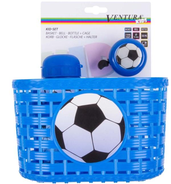 Kit Infantil Acessório Ventura - Azul  - REAL ESPORTE