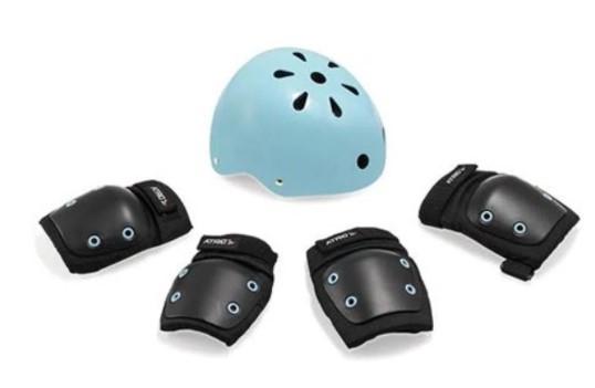Kit Proteção Atrio - Azul  - REAL ESPORTE