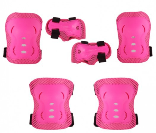 Kit Proteção Bel Sports - Rosa  - REAL ESPORTE