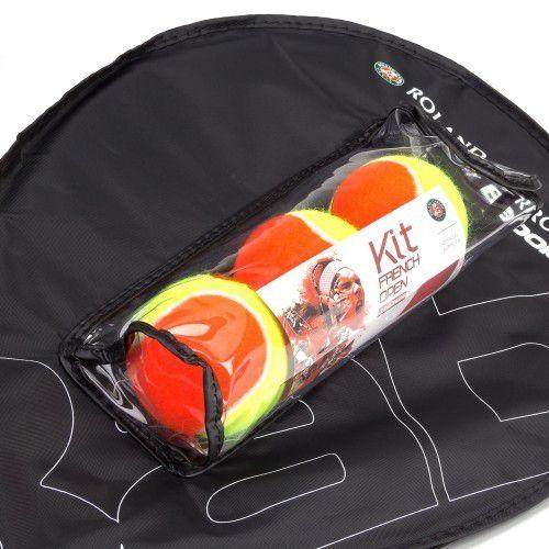 Kit Raquete de Tênis Babolat RG/FO Jr 25 + 3 Bolas Babolat Stage 2  - REAL ESPORTE