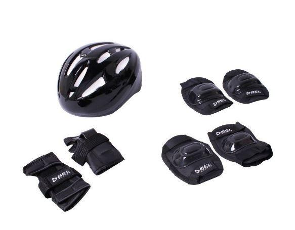 Kit Super Proteção Bel Sports - Preto  - REAL ESPORTE