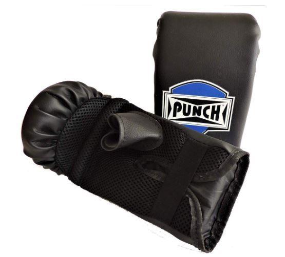 Luva Bate Saco Elástica Punch - Preto  - REAL ESPORTE