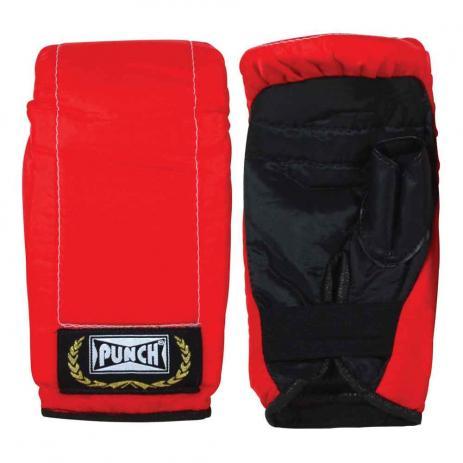 Luva Bate Saco Infantil  Punch - Vermelha   - REAL ESPORTE