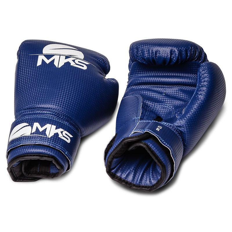 luva de Boxe MKS Azul  - REAL ESPORTE