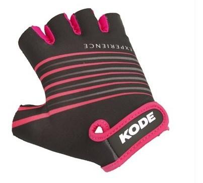 Luva de Ciclismo Kode Experience Preto/Pink  - 14447  - REAL ESPORTE