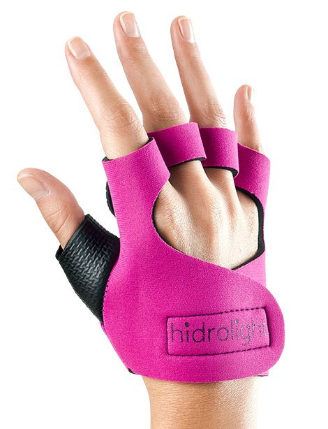 Luva de Neoprene Hidrolight - Rosa Pink  - REAL ESPORTE