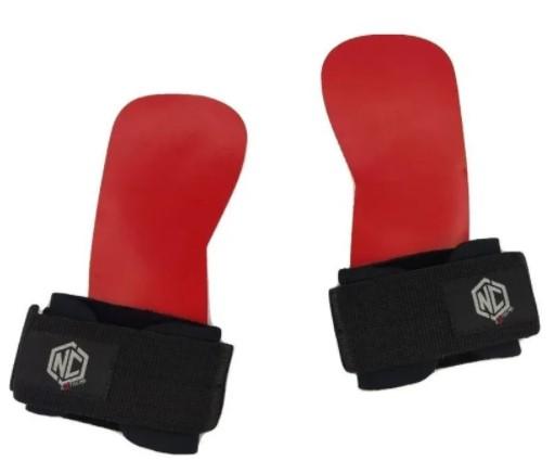 Luva Grip Revolution Red NC Extreme - Preto  - REAL ESPORTE