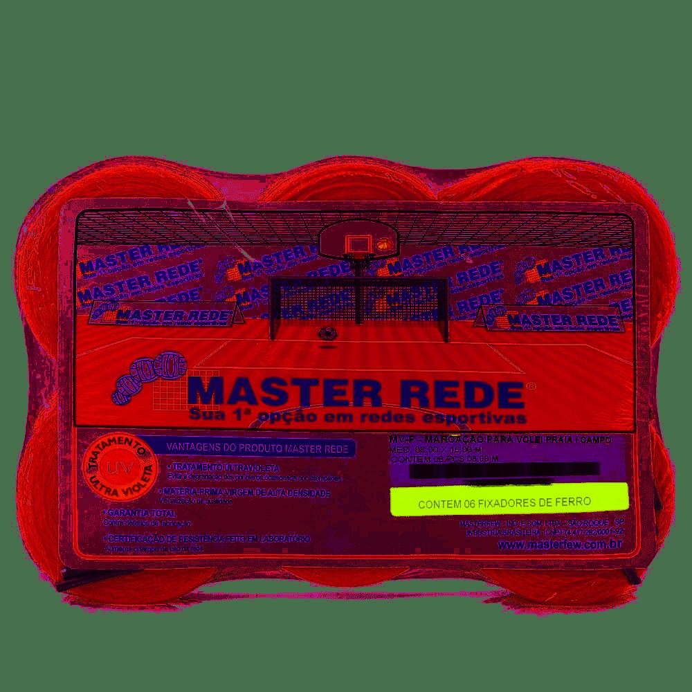 Marcação para Vôlei de Praia / Campo - Master Rede  - REAL ESPORTE