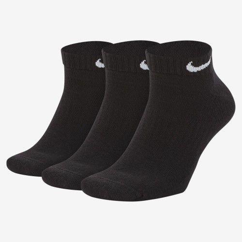 Meia Nike Everyday Cushion Cano Baixo (3 pares) G     - REAL ESPORTE