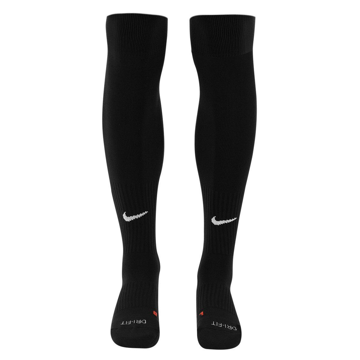 Meião Nike Classic Football Dri-Fit Preto  - REAL ESPORTE