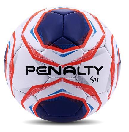 Mini Bola de Futebol de Campo Penalty S11 - Azul/Branca  - REAL ESPORTE
