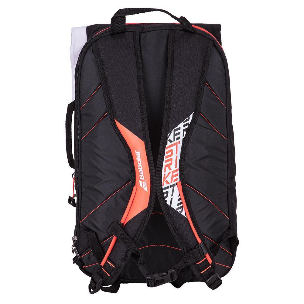 Mochila Babolat Pure Strike Backpack White Red - Vermelho e Branco  - REAL ESPORTE