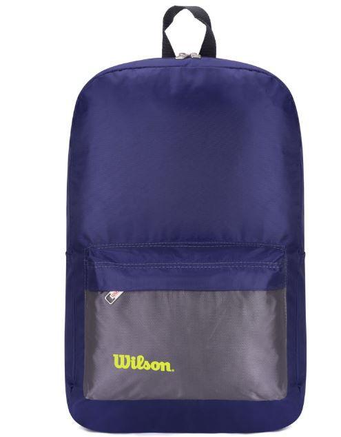 Mochila Wilson Esp Wtix14707BB2 - Azul e Cinza  - REAL ESPORTE